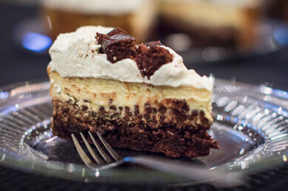 Audreys Desserts First Brownie Chocolate Chip Cheesecake