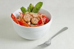 Nick's Picks: Asian Noodle Salad With Grilled Shrimp