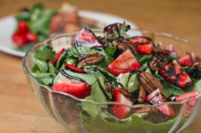 Nick's Picks: Balsamic Strawberry Salad