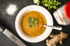 Nick's Picks: Carrot Ginger Coconut Soup