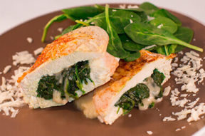 Nick's Picks: Chicken With Spinach And Provolone