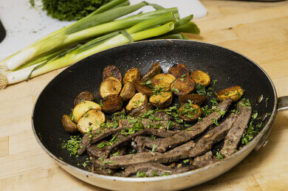 Nick's Picks: Garlic Butter Steak And Potatoes