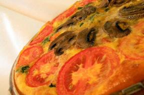 Nick's Picks: Potato Crusted Garden Vegetable Quiche