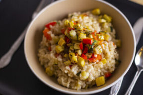Nick's Picks: Roasted Vegetable Risotto