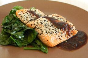 Nick's Picks: Sesame Crusted Salmon
