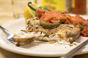 Nick's Picks: Spicy Oven Fried Fish