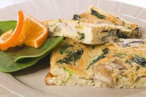 Nick's Picks: Spinach And Ham Fritatta