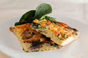 Nick's Picks: Spinach And Mushroom Fritatta