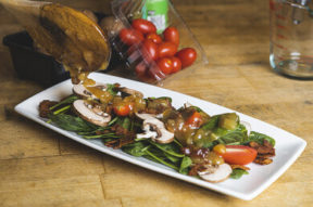 Nick's Picks: Spinach Salad With Hot Bacon Dressings