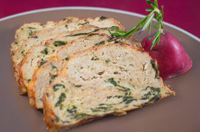 Nick's Picks: Turkey Meatloaf With Spinach
