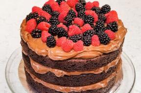 Audreys Desserts First Dairy Free Chocolate Cake